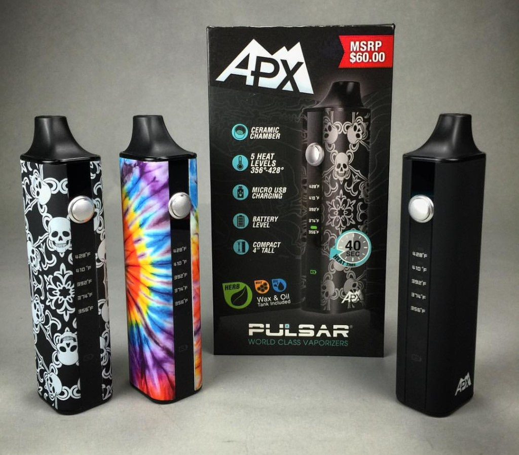 Best Portable Weed (Dry Herb) Vaporizers for 2017 Reviewed -The Pulsar APX Review