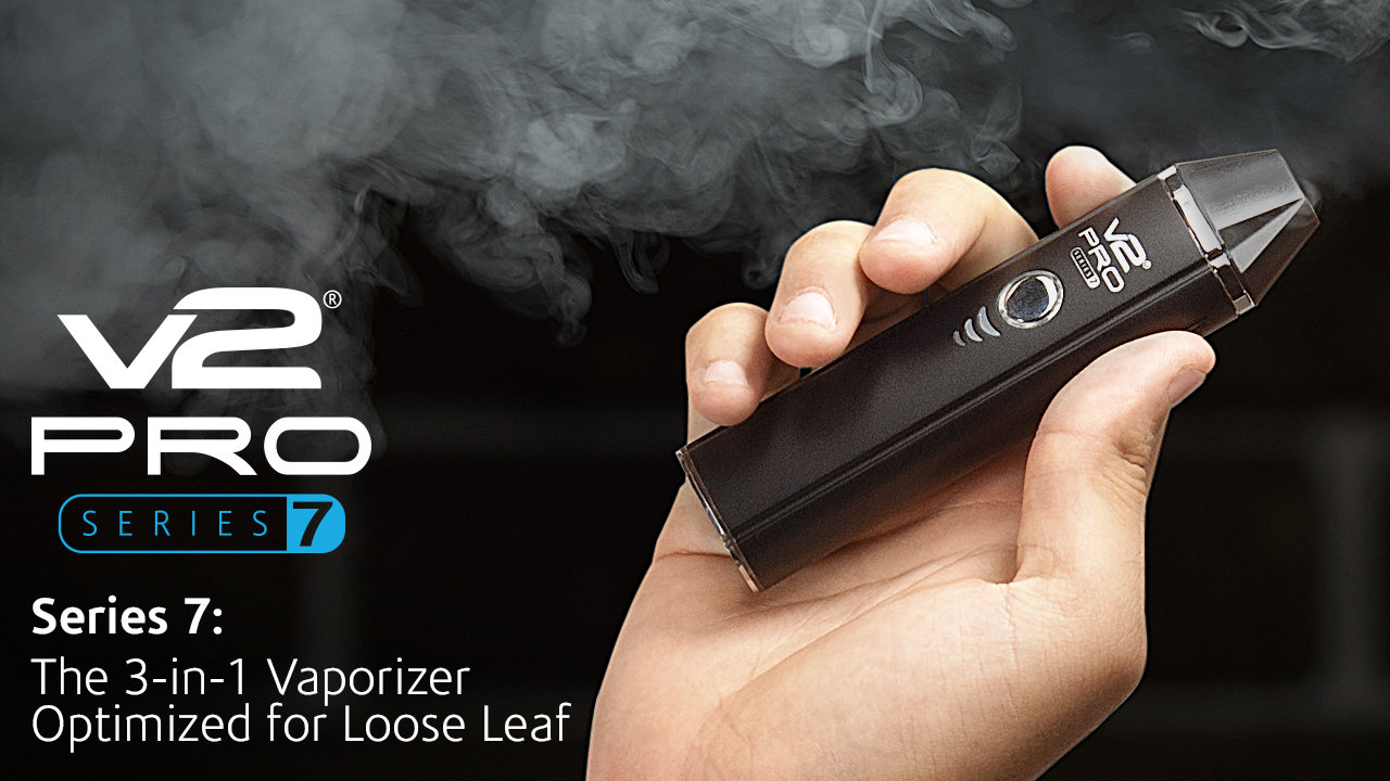 Best Portable Marijuana Vaporizers for 2017 Reviewed. The V2 PRO Series 7 Review
