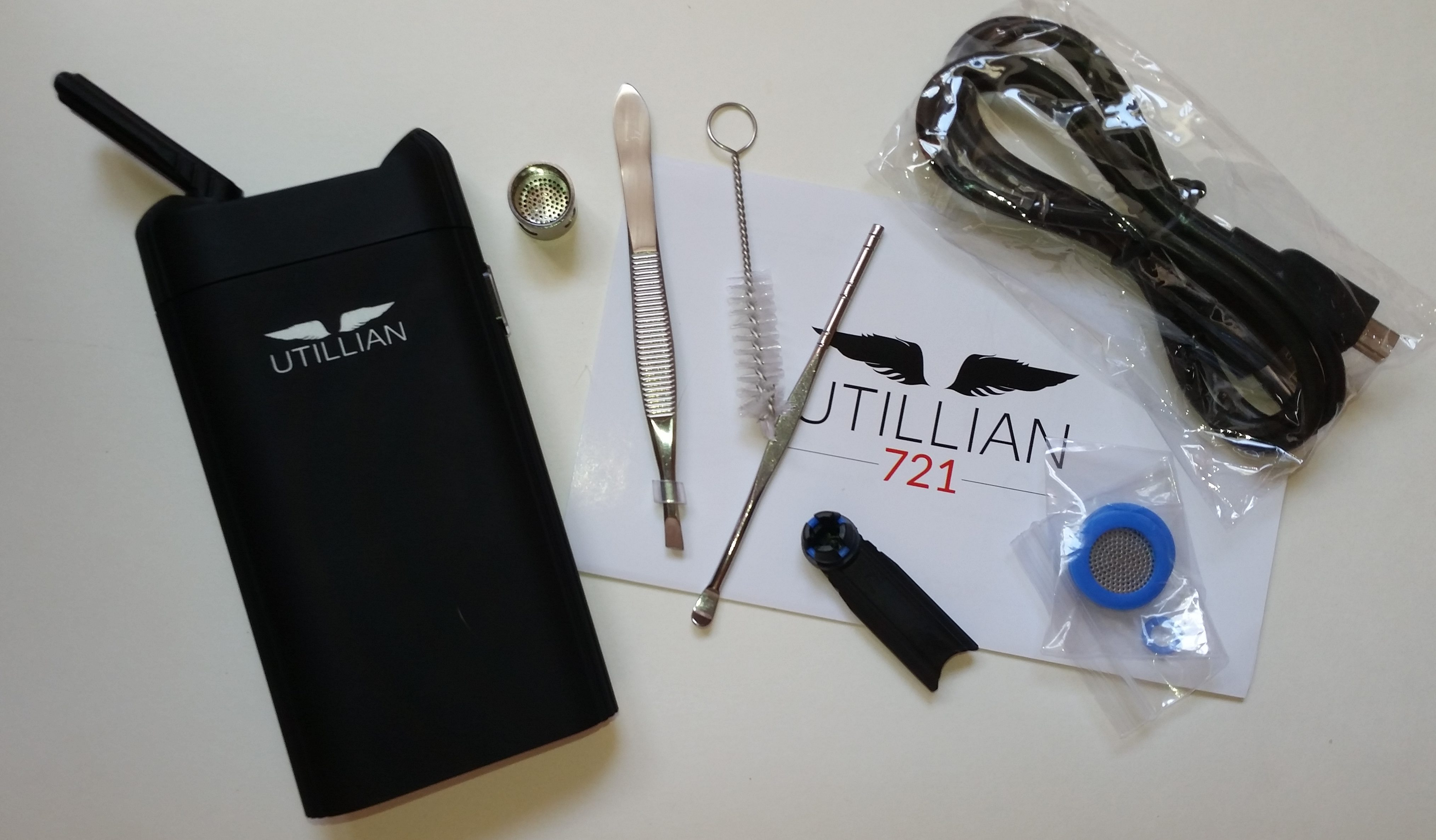 Best Portable Marijuana Vaporizers: Found, Tested and Reviewed. -The Utillian 721 Review