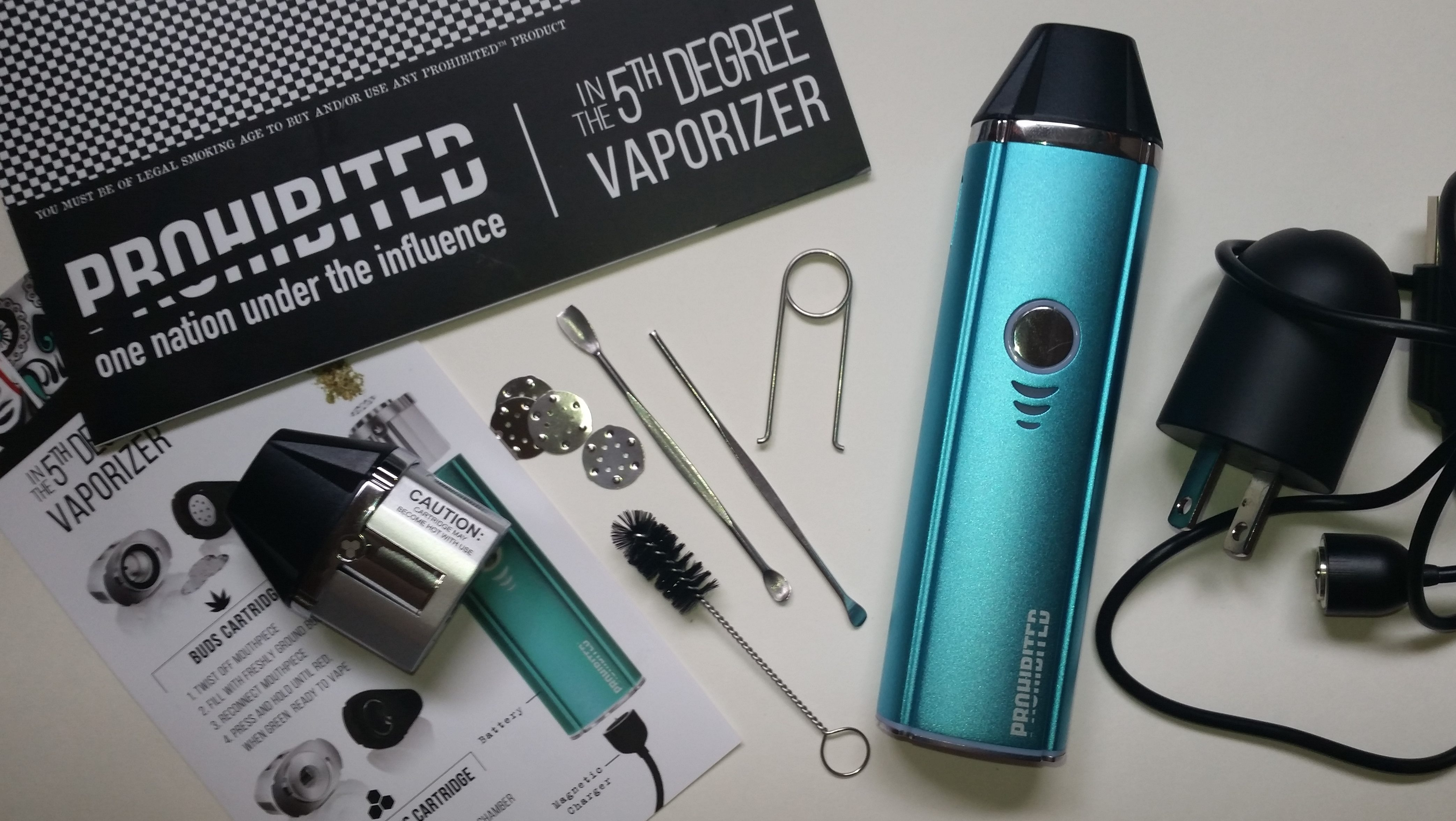 Check out the Prohibited in the 5th Degree direct from Prohibited Vaporizers!